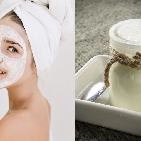 mascarilla casera de yogur para aclarar hidratar la piel