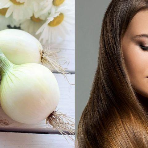 como aplicar cebolla en el cabello