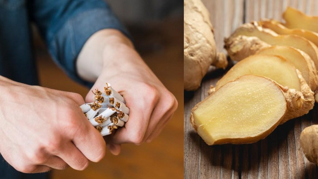 dejar de fumar jengibre remedio natural