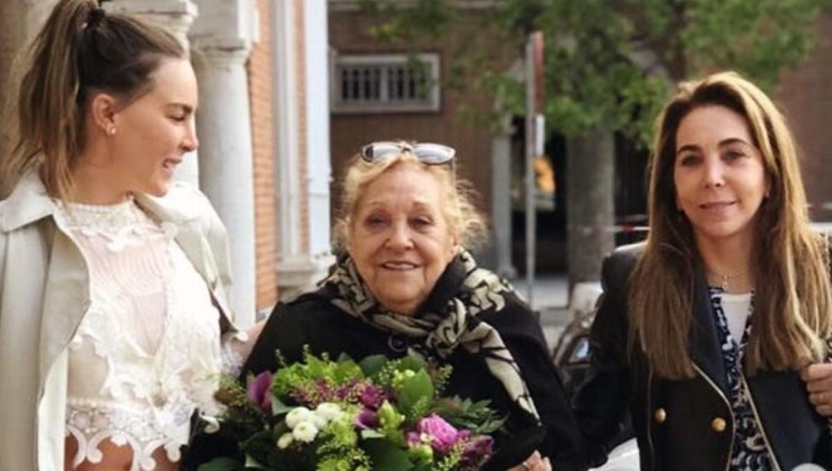 la muerte de los abuelos es la mas dolorosa, muere abuela de belinda