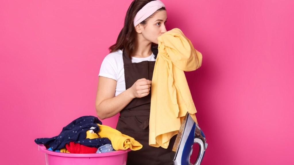 behalte immer den Duft von Kleidung
