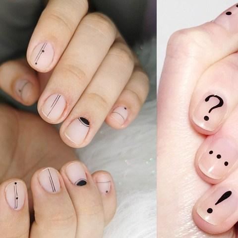 diseños uñas hombre