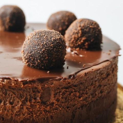 receta deliciosa para hacer una tarta de chocolate