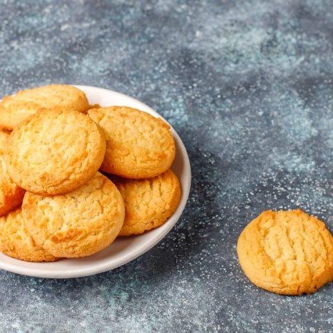 receta galletas con mantequilla postre cookies
