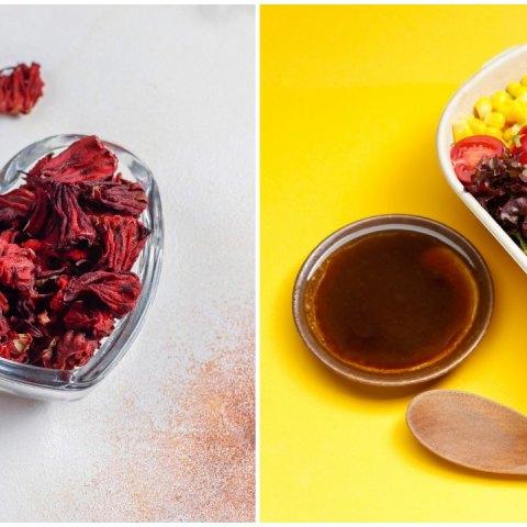 como hacer aderezo de jamaica receta agridulce