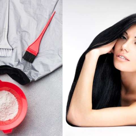 tinte negro casero para el cabello como hacer