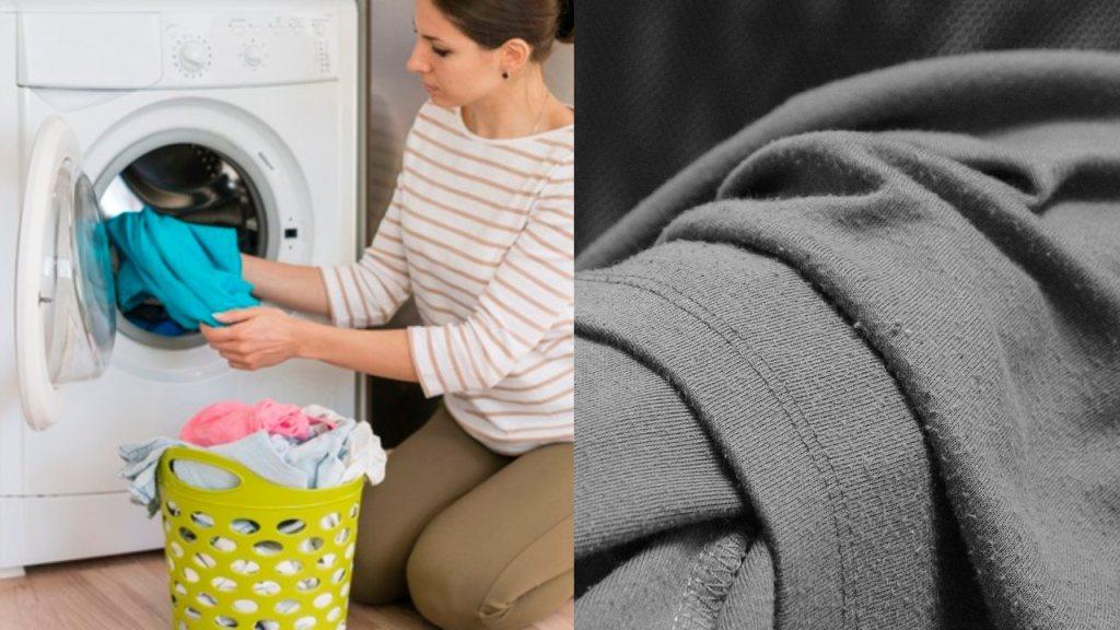 Trick, damit Ihre Waschmaschine keine Fusseln auf der Kleidung hinterlässt