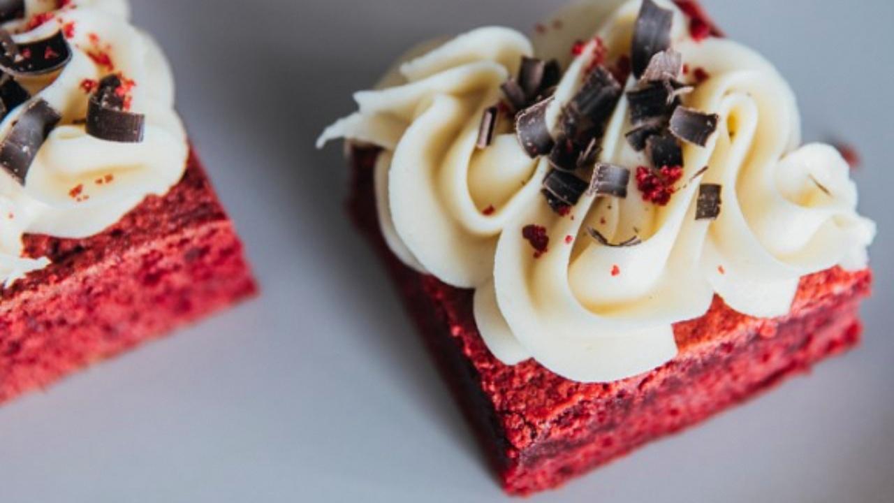 cómo hacer brownies red velvet postres recetas