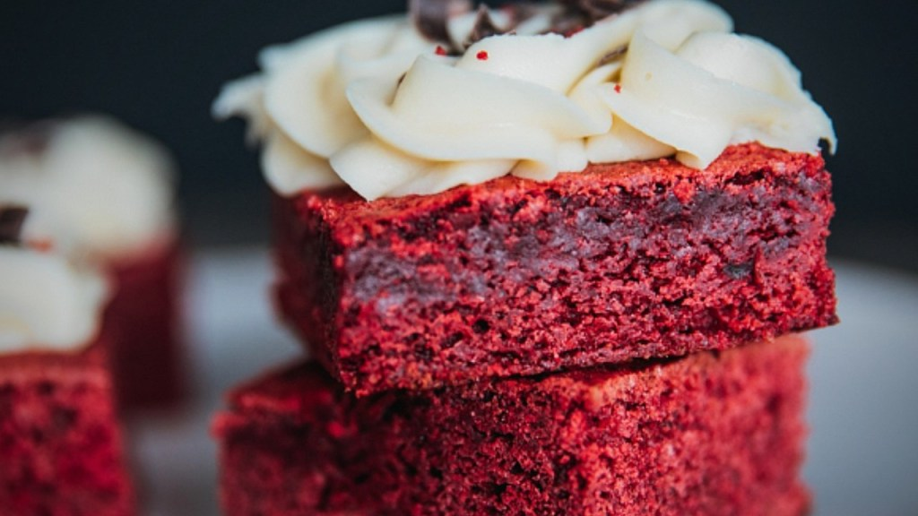 receta para brownies de red velvet
