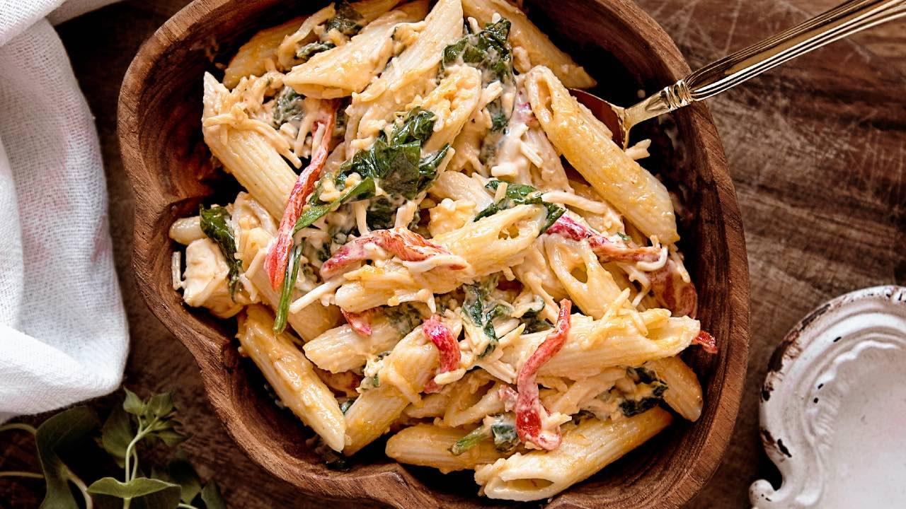 ensalada de pasta con atun receta