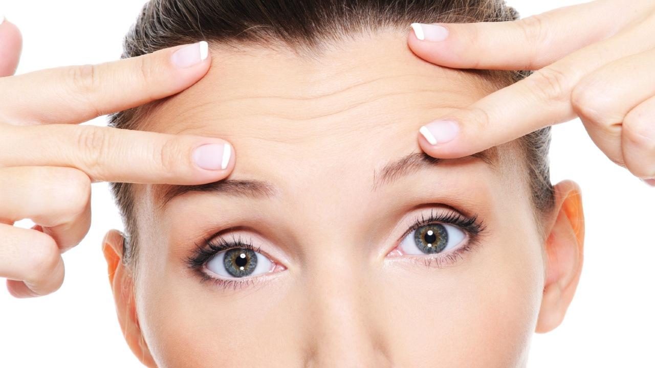 arrugas líneas de expresión vitamina cuidado de la piel