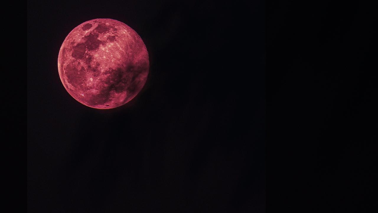 superluna rosa 2021 significado cuándo verla abril