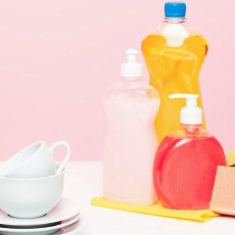 como hacer jabón líquido para trastes