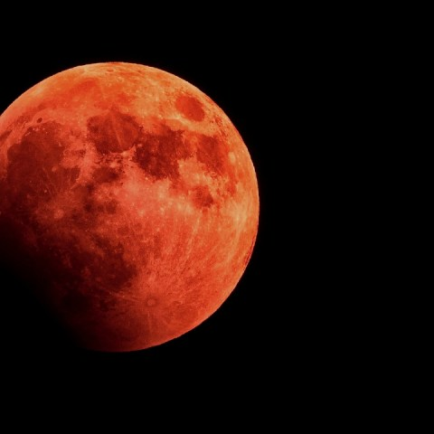 luna de sangre eclipse total lunar