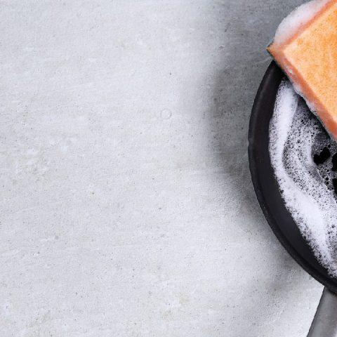 mezcla para arrancar cochambre grasa base sartenes