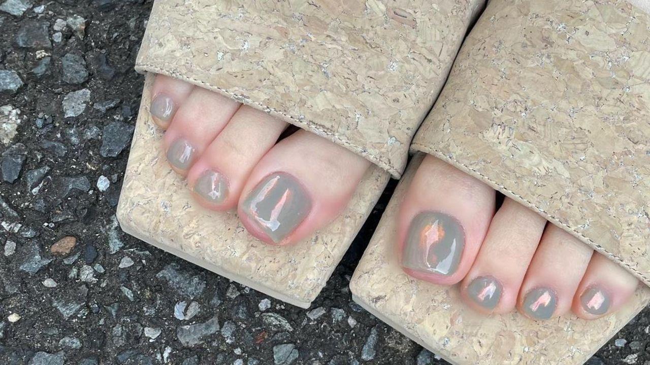 decorar las uñas de los pies inspiración