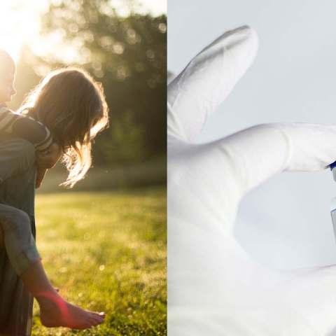 Padres vacunados pueden contagiar a hijos