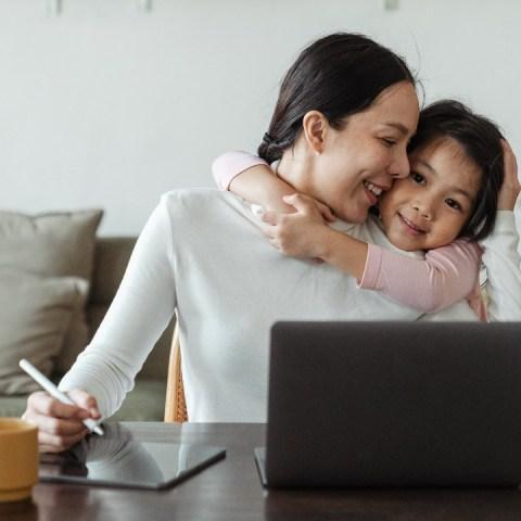 formas de decirle a tus hijos que estas ocupada
