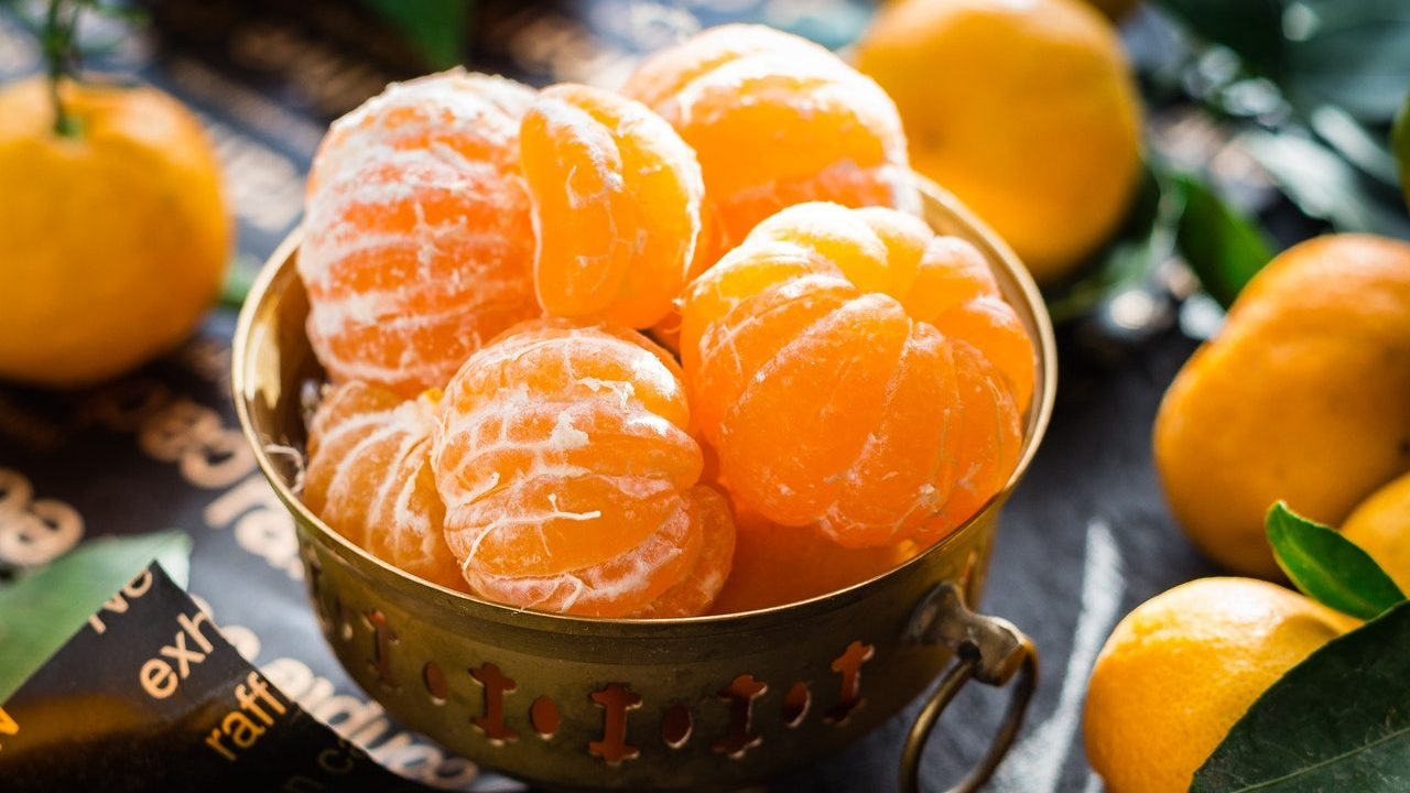 cómo tener mandarinas en casa