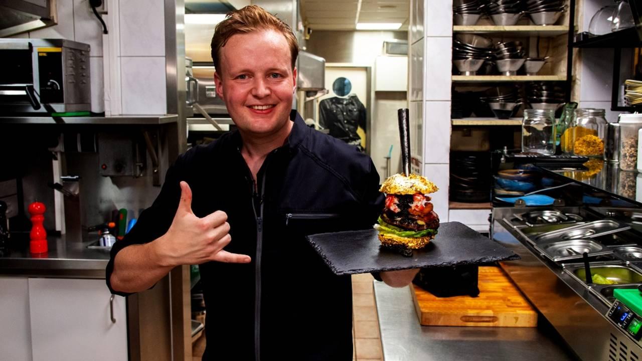Robbert Jan de Veen creador de la hambruguesa más cara del mundo