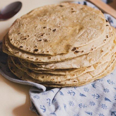 Receta fácil para hacer tortillas de avena