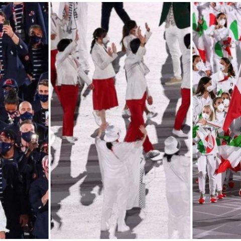 Los lujosos trajes de diseñador de los atletas olímpicos