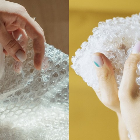 ¿Por qué es tan adictivo explotar burbujas de plástico?