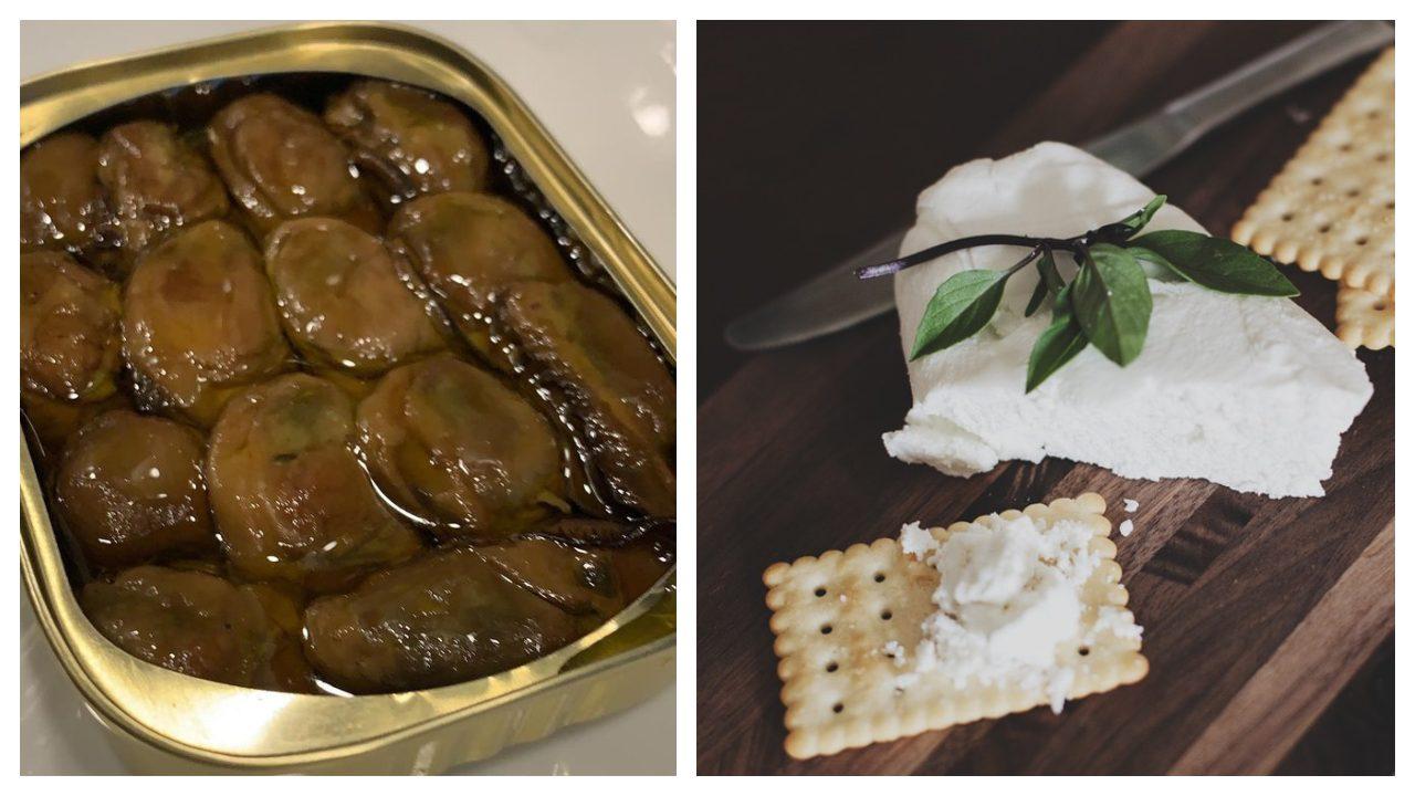 mousse de ostiones ahumados con queso philadelphia receta