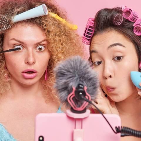 Ojeras tendencia de maquillaje