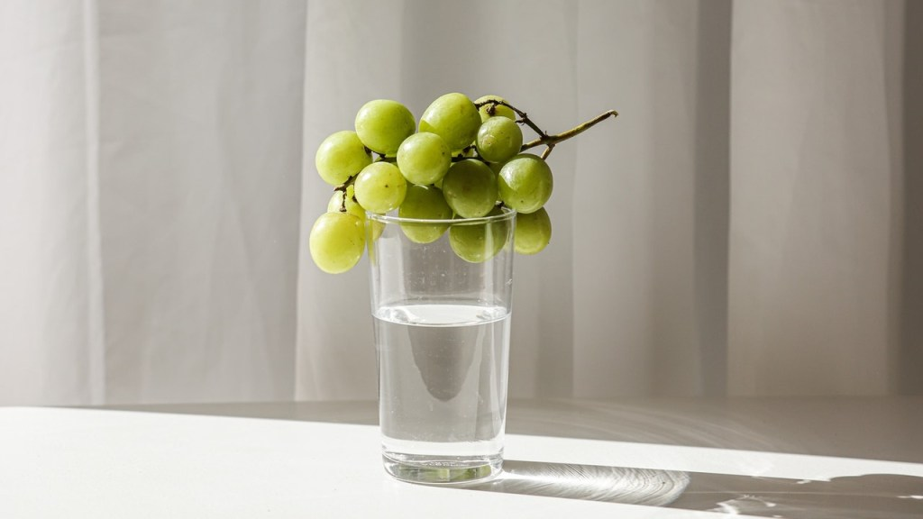 hechizo del vaso con agua