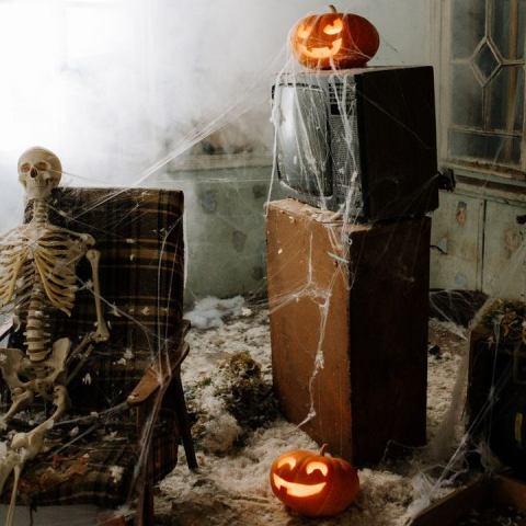 hacer una calabaza de Halloween