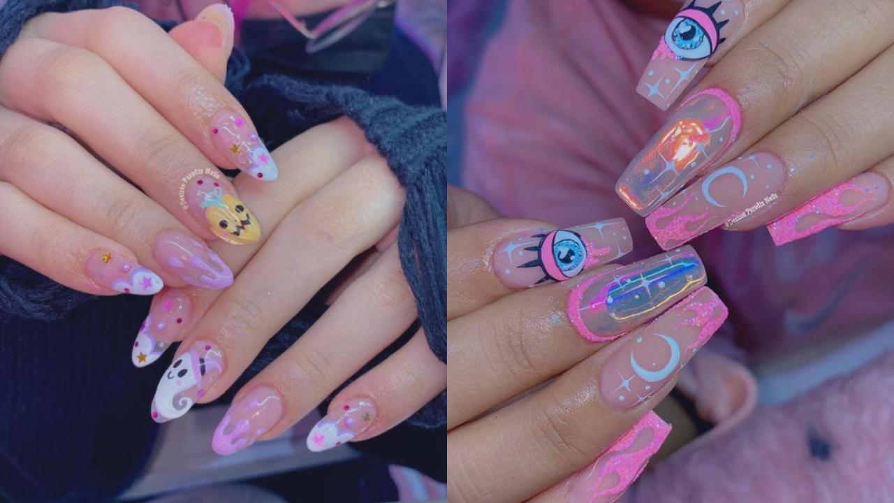 Ideas para pintarse las uñas en Halloween