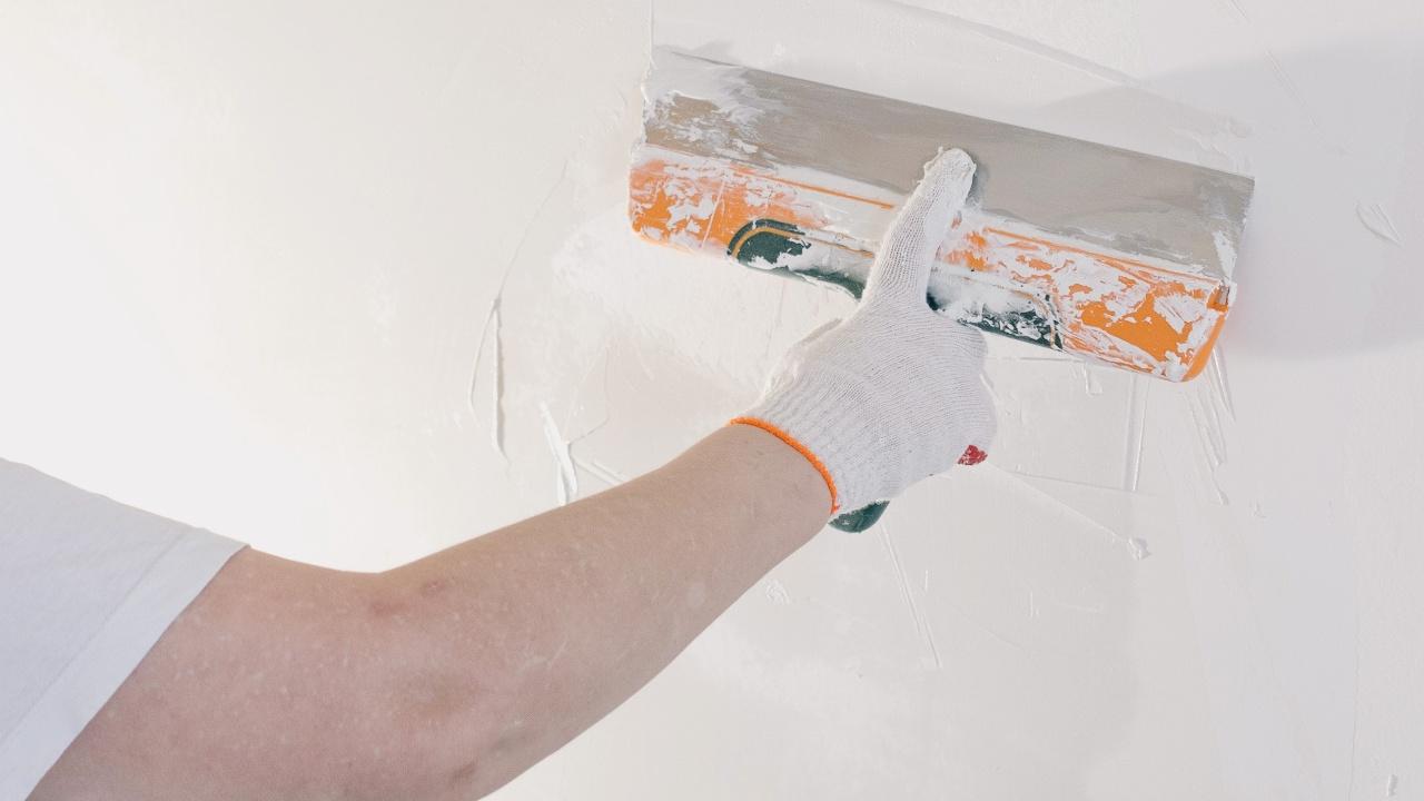 como preparar pared para pintar