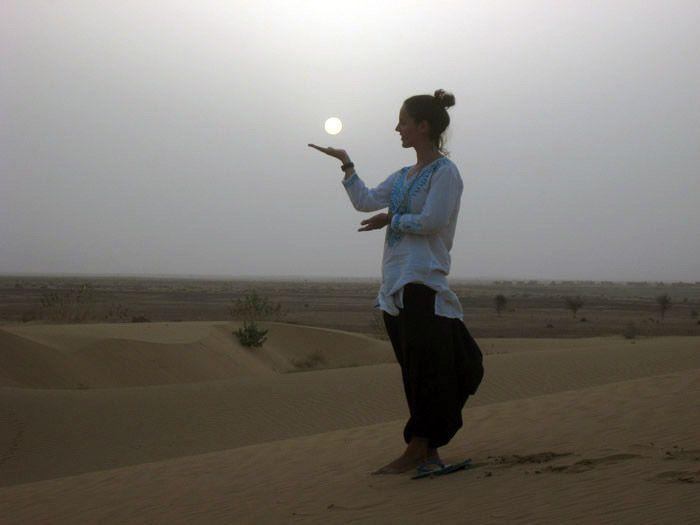 Desierto de Rajastan, India.