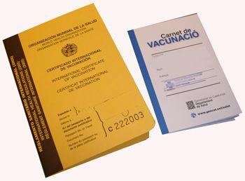 Carnets de vacunas