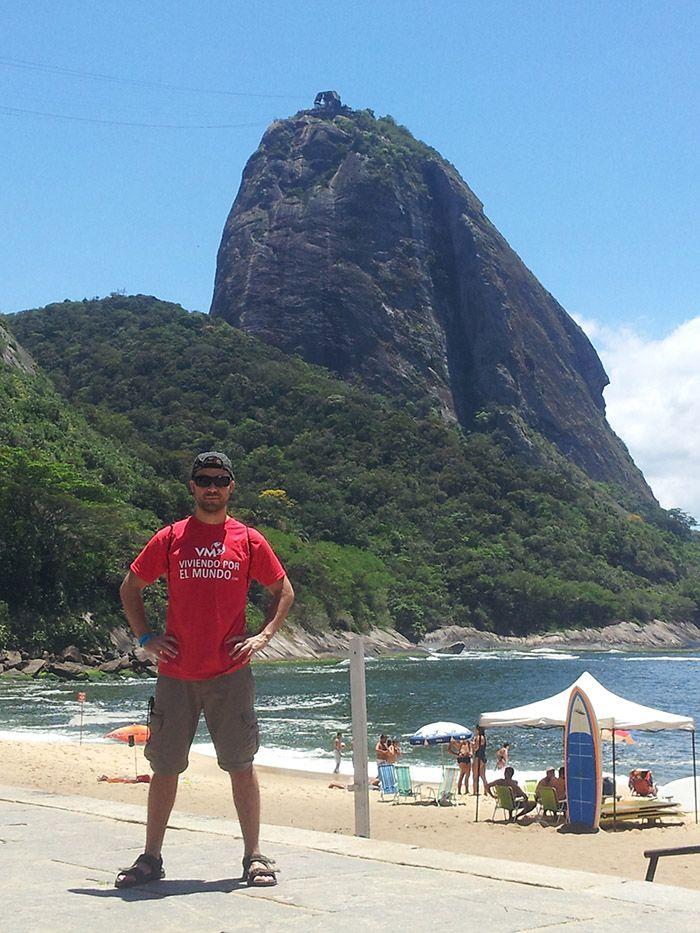 Pao de Açucar desde Praia Vermelha