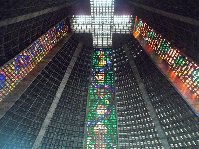 Catedral por dentro, es muy bonita
