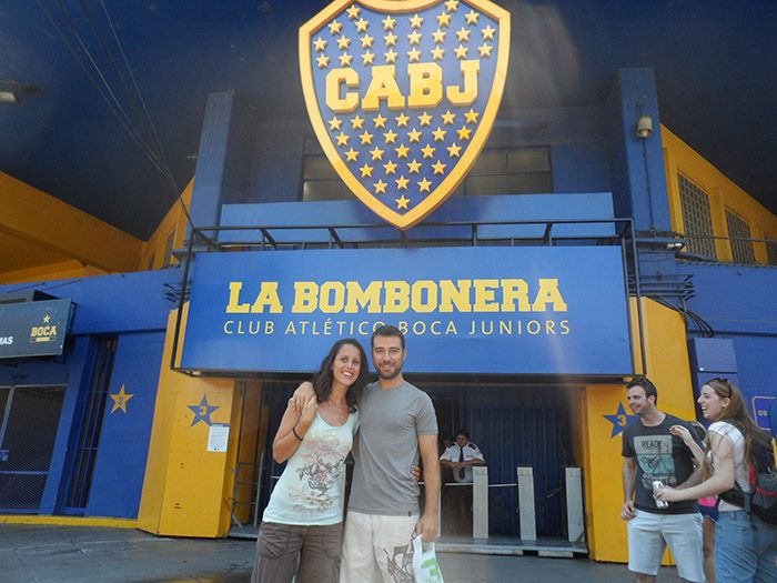 "Estadio del Boca Juniors ""La Bombonera"""