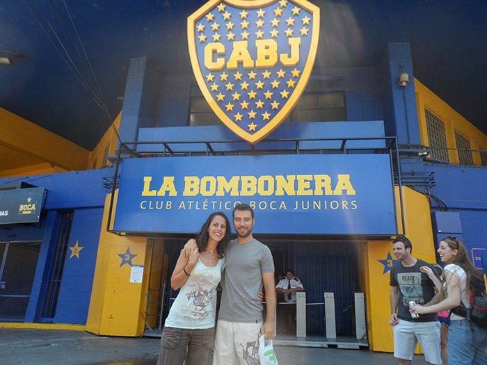 """Estadio del Boca Juniors """"La Bombonera"""""""