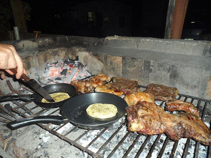 Carne asada y provolone... mmmmm.... ¡que rico!