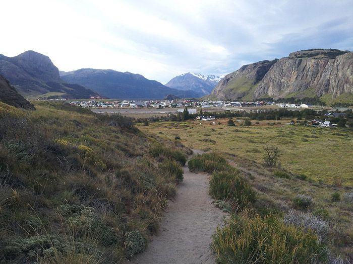 El Chalten es este encantador pueblecito situado entre montañas