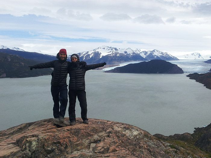 ¡Ya estamos cerca del Glaciar Grey!