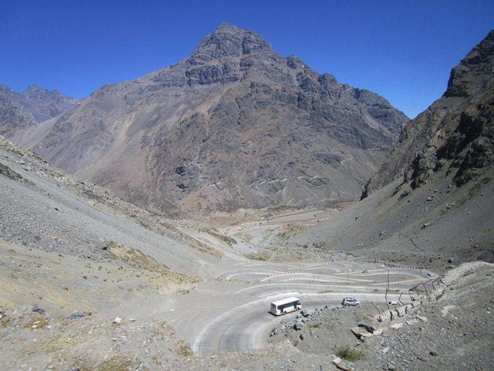 Paso de Chile a Argentina
