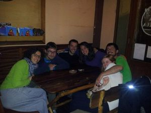 ¡El equipo de las minas de Potosí casi al completo!