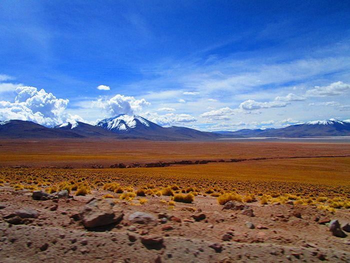 Paisaje camino del Salar de Uyuni