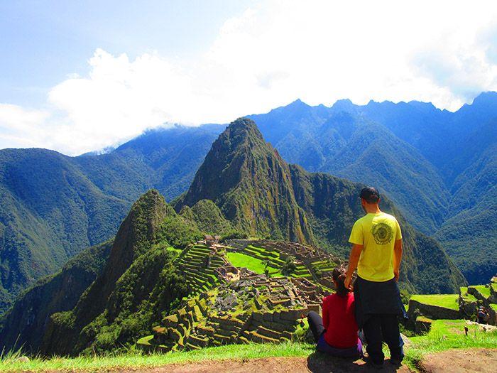 ¡Espectacular vista del Macchu Picchu!