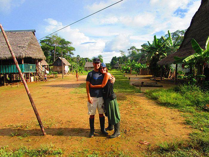 Poblado en Pacaya Samiria