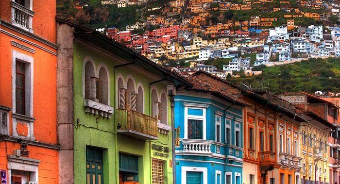 El colorido casco antiguo, lo mejor de Quito