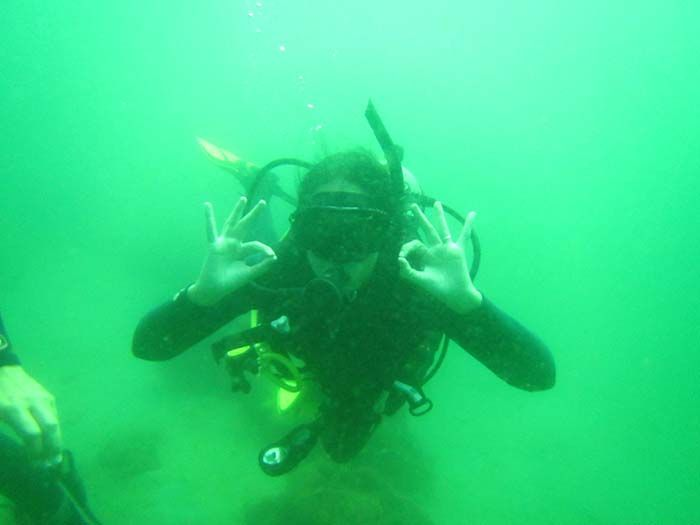 ¡El curso de submarinismo superó nuestras expectativas!