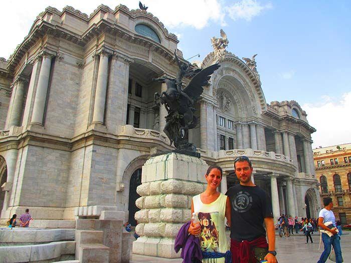 Palacio de Bellas Artes, México DF